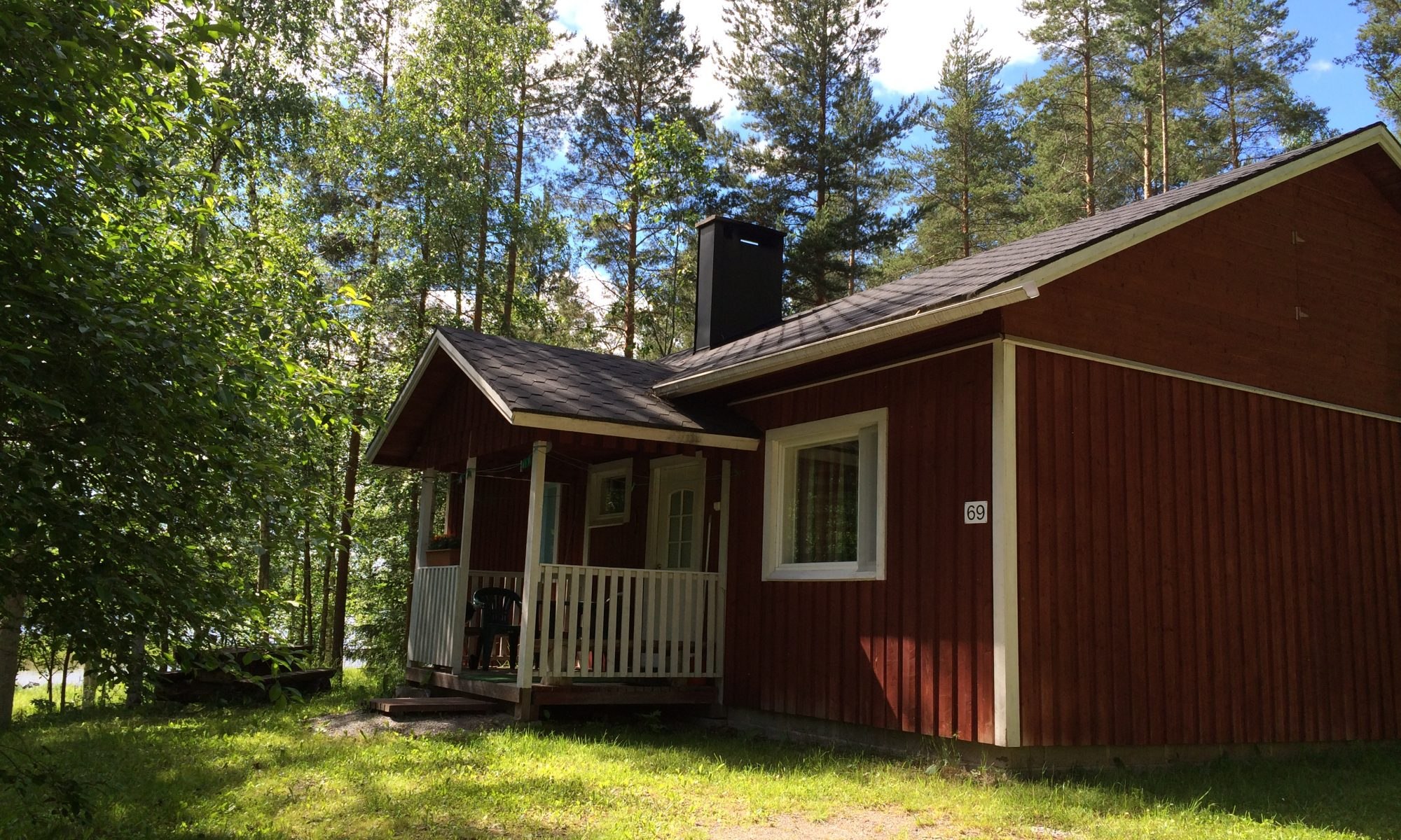 Aholanraitti Mustikkamäki Vuokramökki
