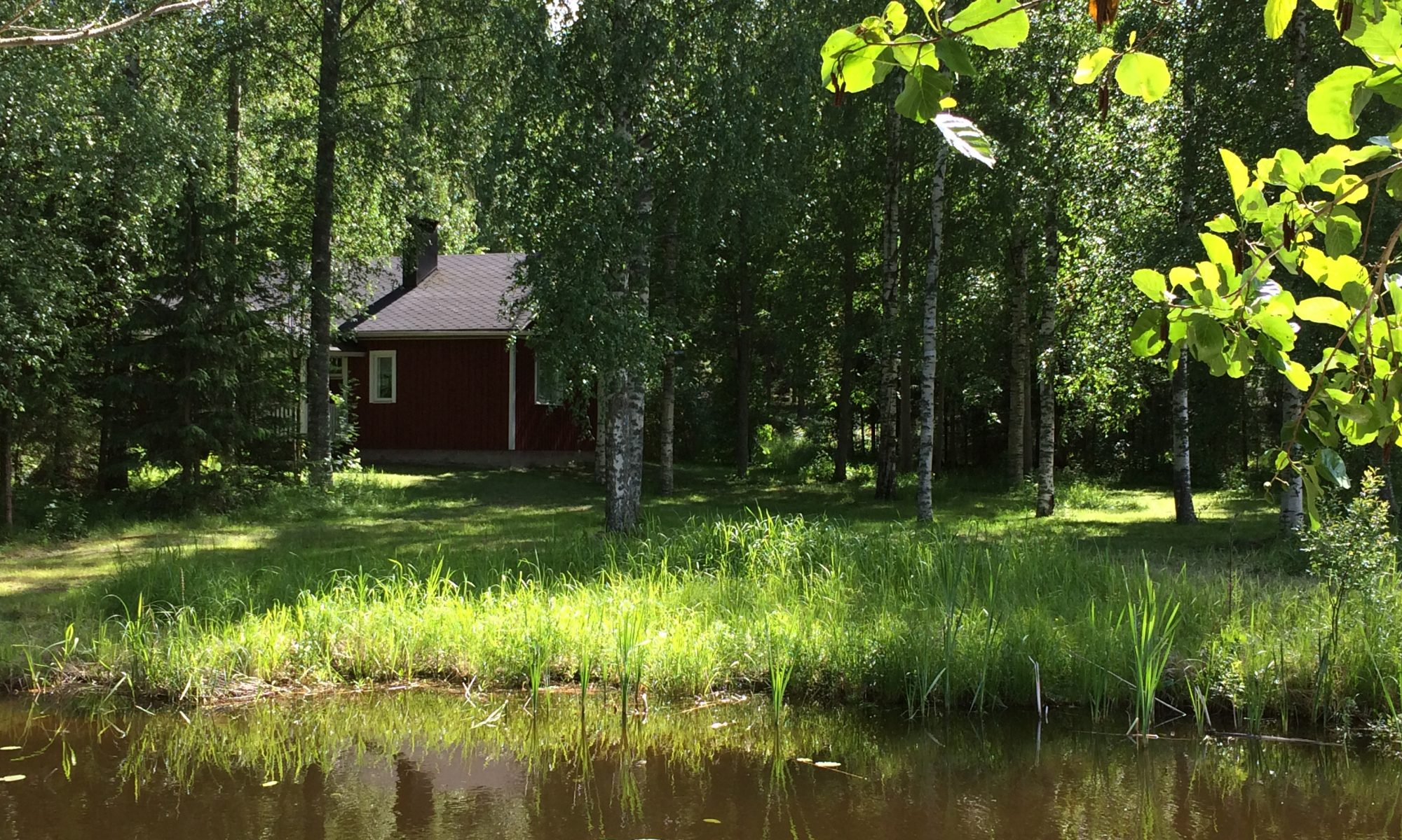 Aholanraitti holiday houses to rent by lake Finland