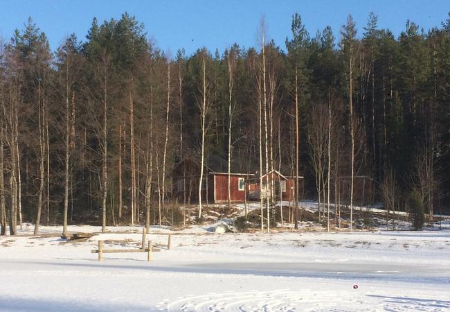 Aholanraitti-talviloma-vuokramökki