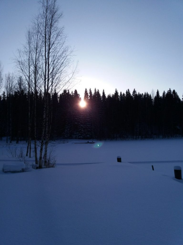 Aholanraitti-vuokramökkejä-hiihtoloma